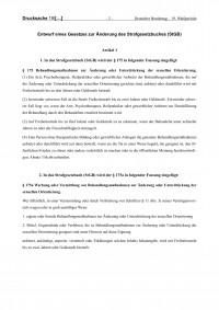 Gesetzesentwurf - Teil 2