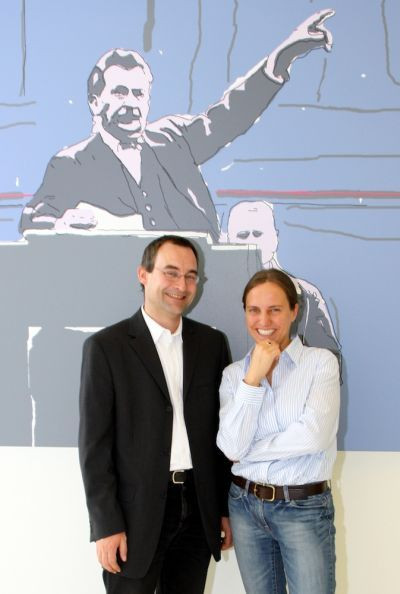 Arno Wallner und Anne Jacobs
