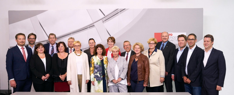 Gruppenbild der Landesgruppe 2018